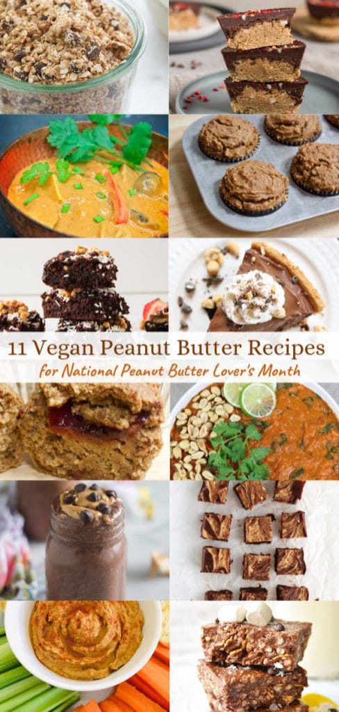 Save link to 11 peanut butter recipes on Pinterest