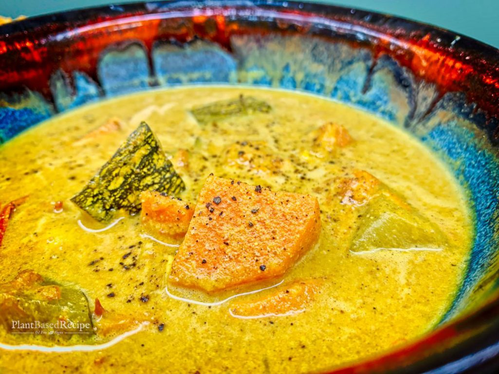 Vegan curry soup recipe
